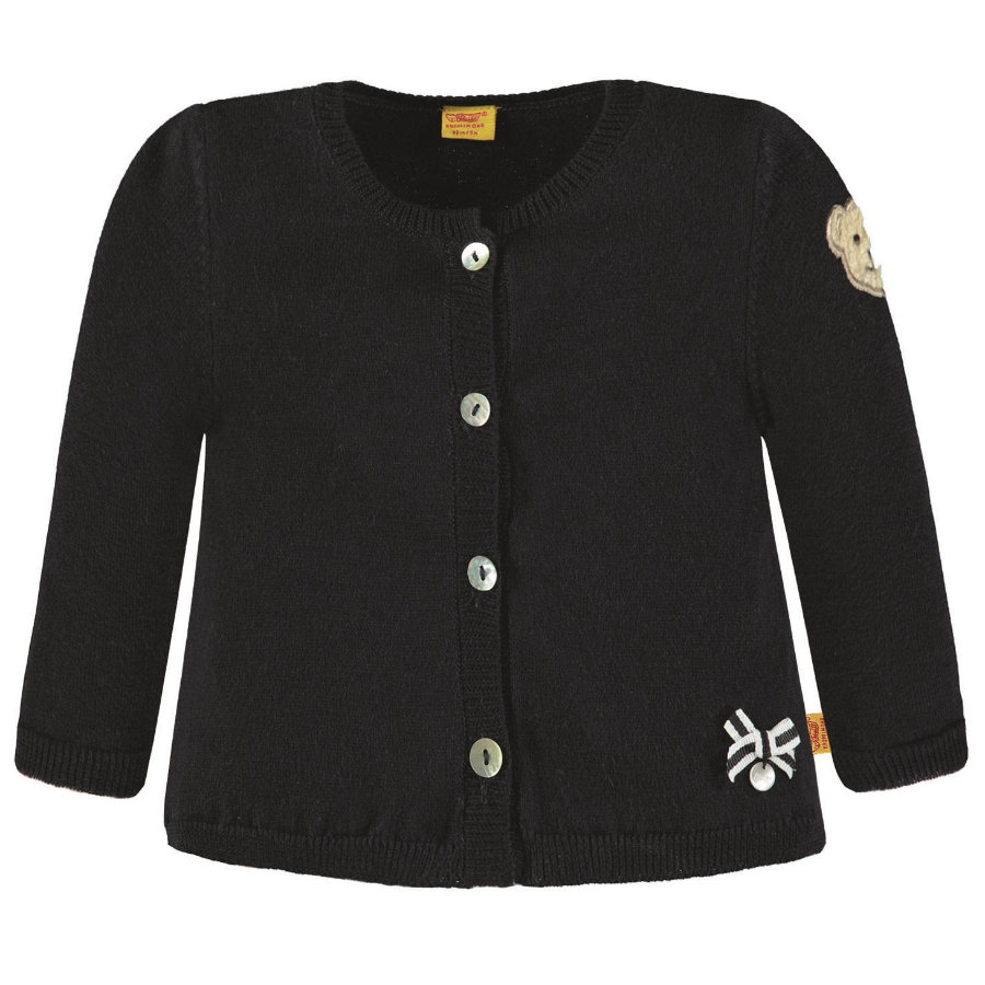 Steiff Girls Strickjacke, marine