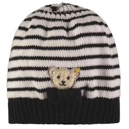 Steiff Girl s Bonnet tricoté à rayures
