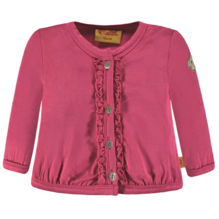 Steiff Girls Sweatjacke, pink