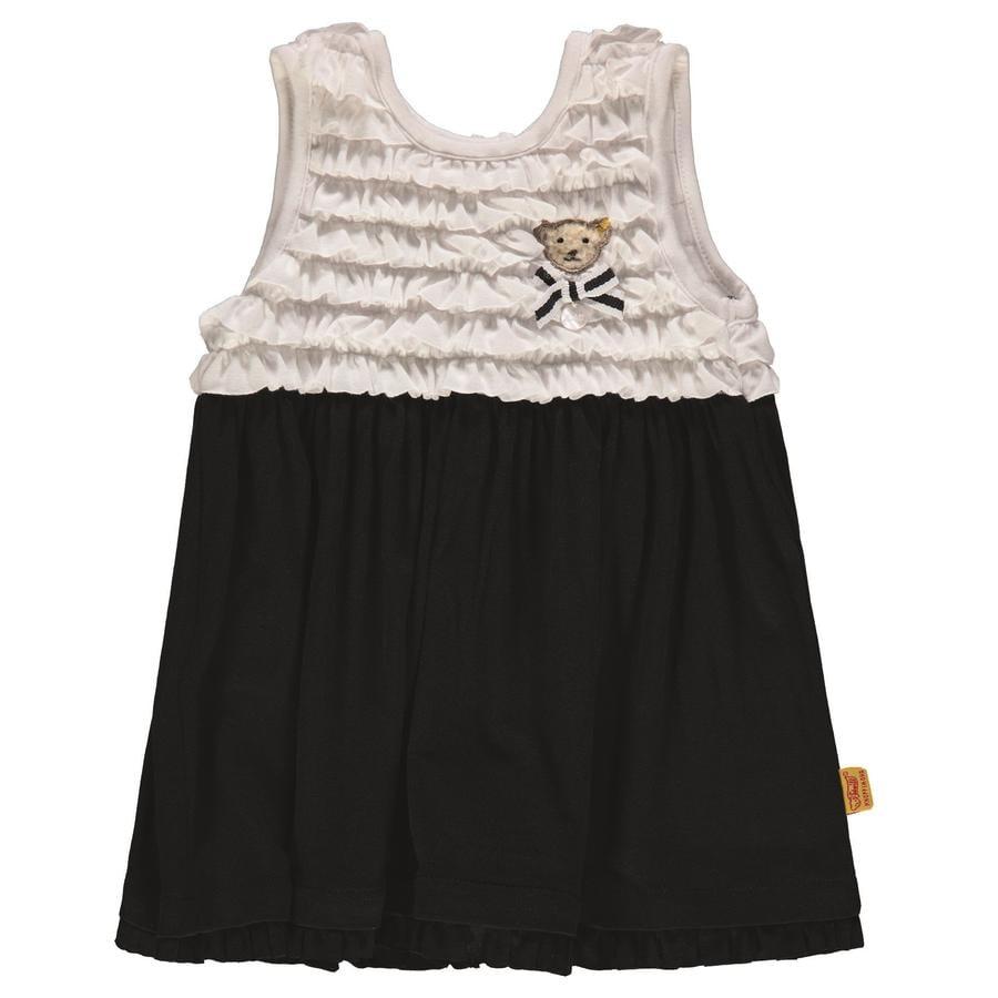 Steiff Girl sukienka, granatowa/biała