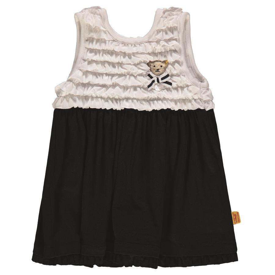 Steiff tyttöjen mekko, meri / valkoinen