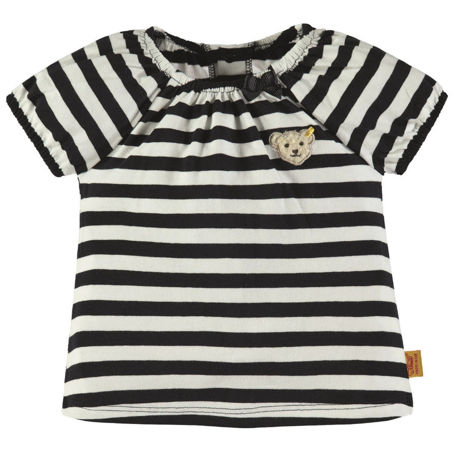 Steiff Girls T-Shirt, marine