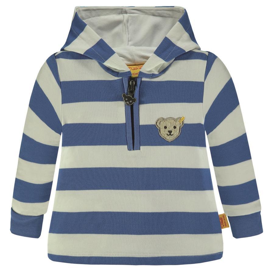 Steiff Boys Bluza bluza, jasnoniebieska.
