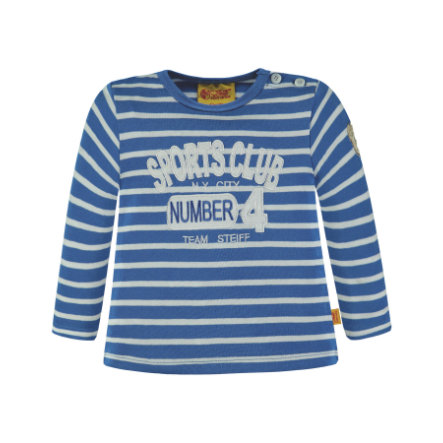 Steiff Boys Langarmshirt, strong blue