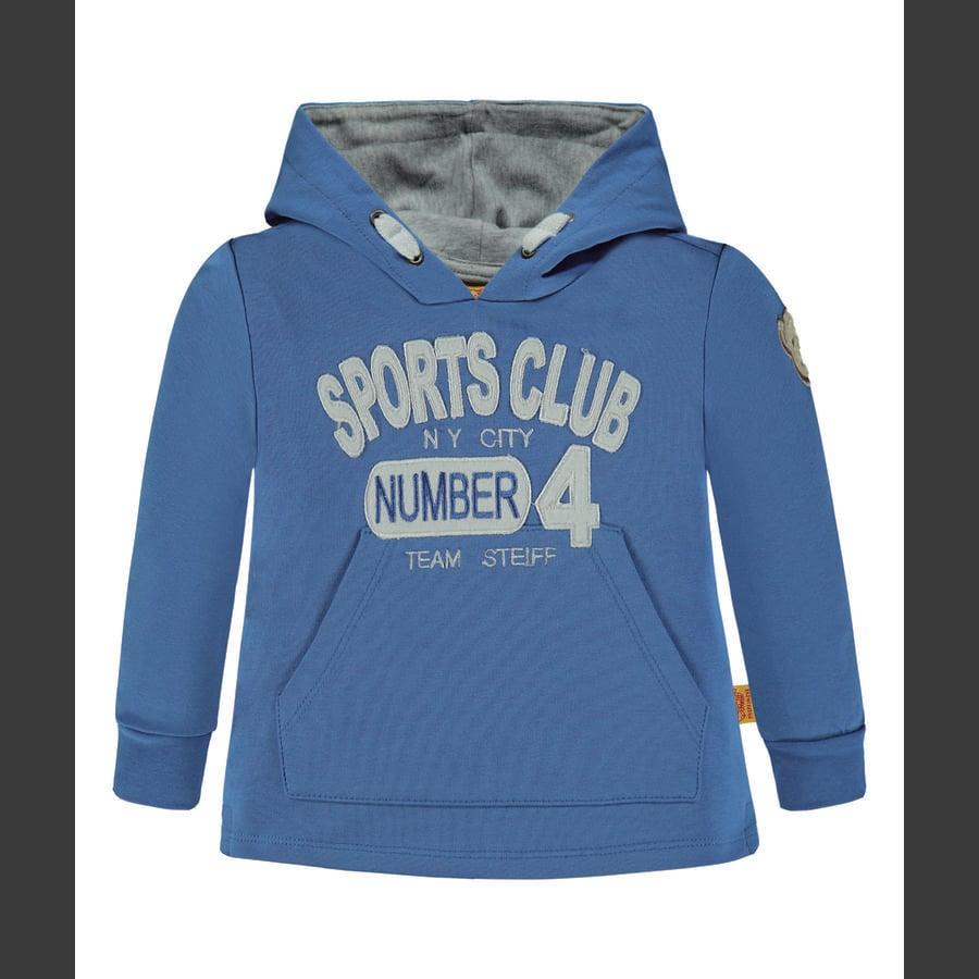 Steiff Boys Sweatshirt, strong blue