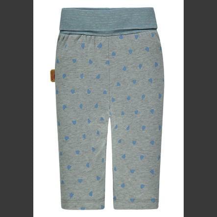Steiff Leggings, grå med blå nallebjörnar