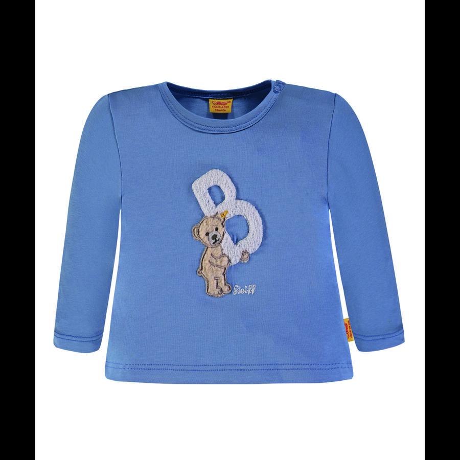 Steiff Boys Shirt met lange mouwen, blauw
