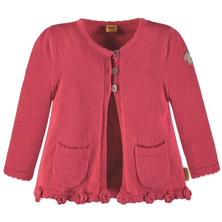 Steiff Gilet enfant tricot coton rose