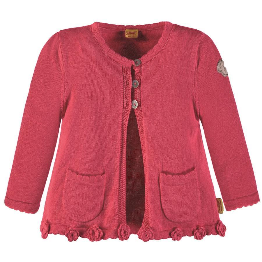 Steiff Girls Strickjacke, pink