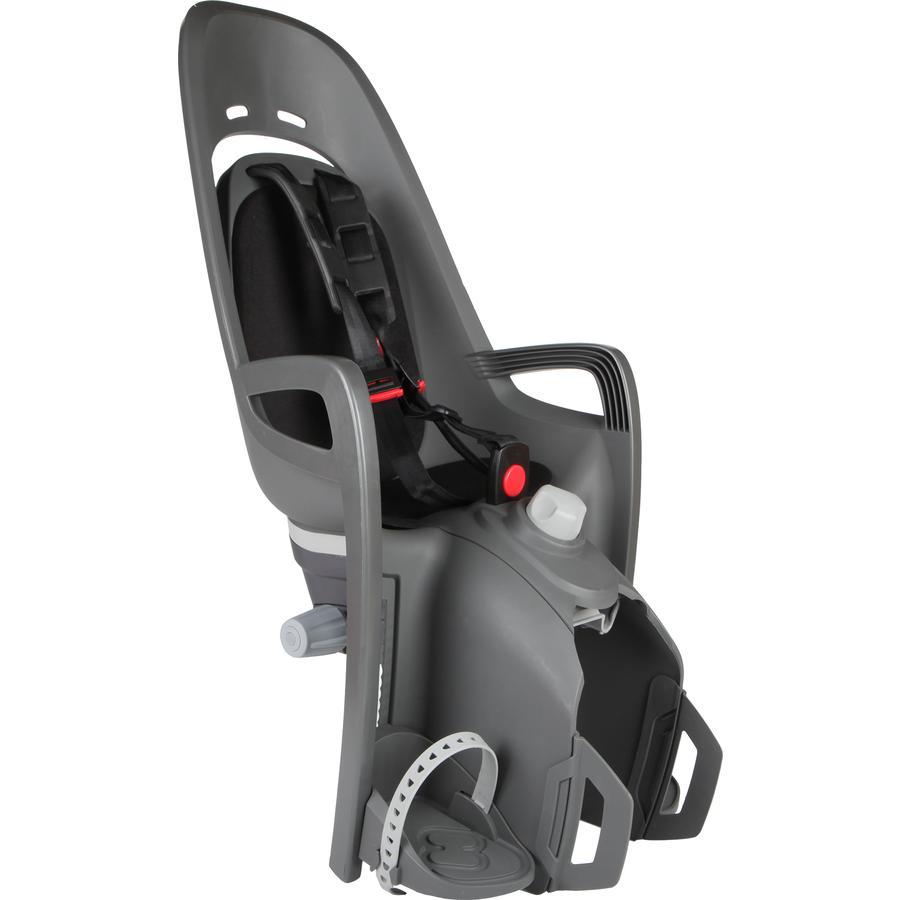 hamax Fahrradsitz Zenith Relax mit Gepäckträgeradapter Grau/Schwarz