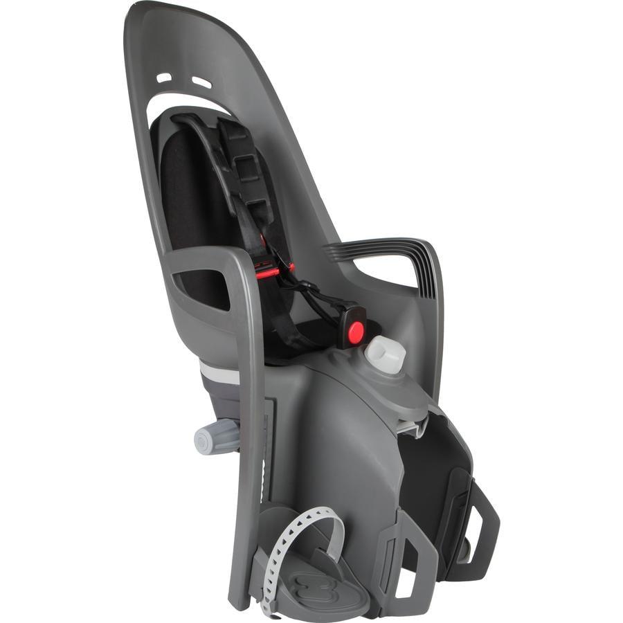 HAMAX pyöränistuin Zenith Relax kiinnikkeellä harmaa/musta
