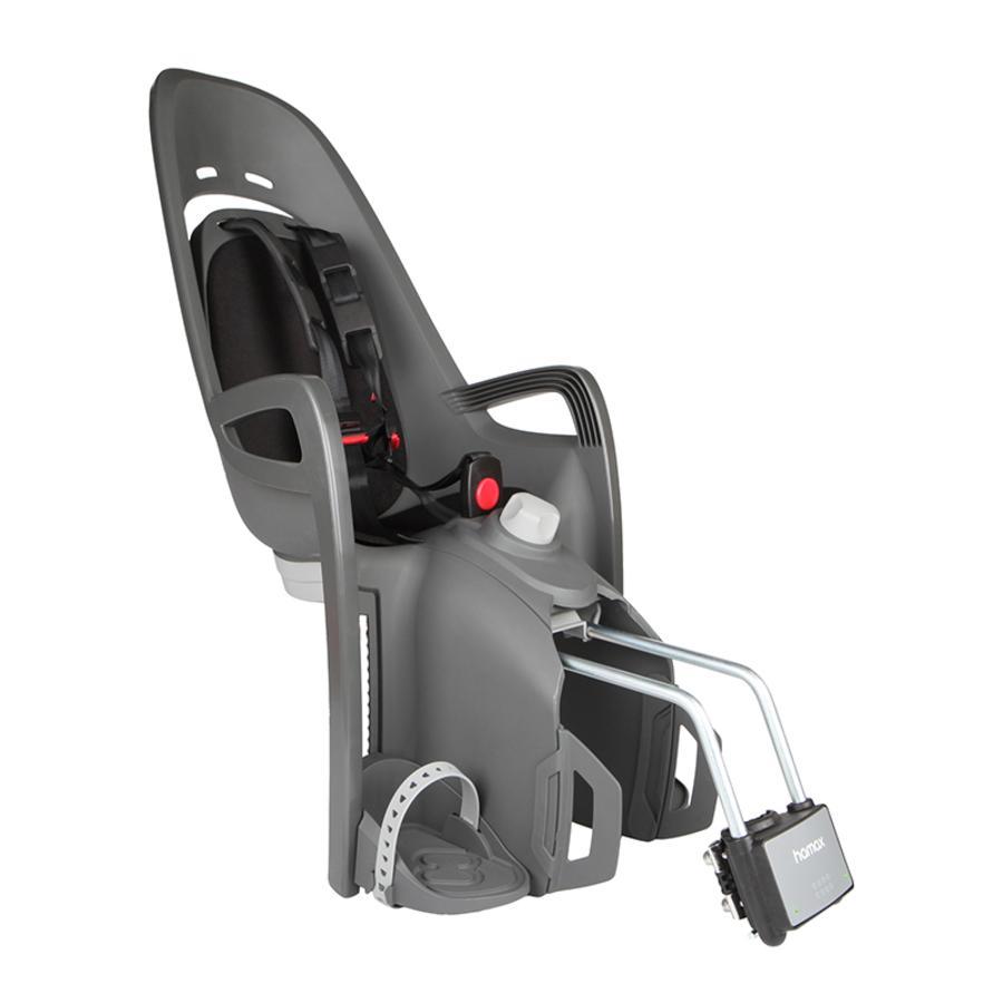 hamax Fotelik rowerowy Zenith Relax z adapterem szary/czarny