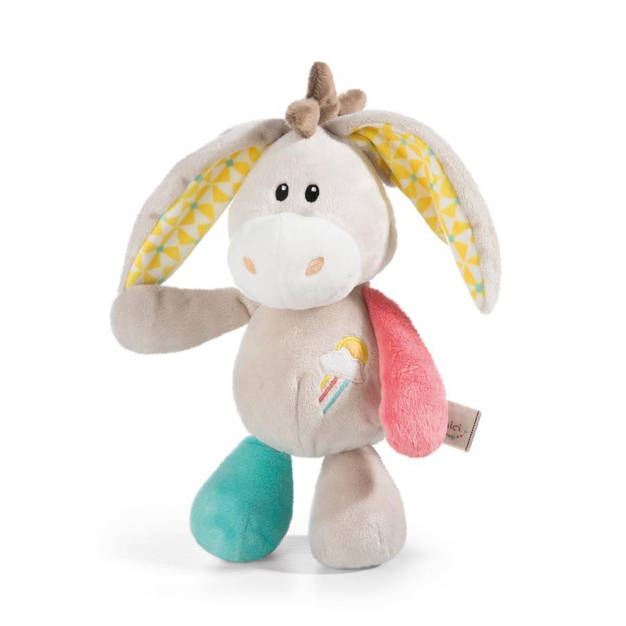 NICI My First NICI Kuscheltier Esel Muli 25 cm Schlenker 42070