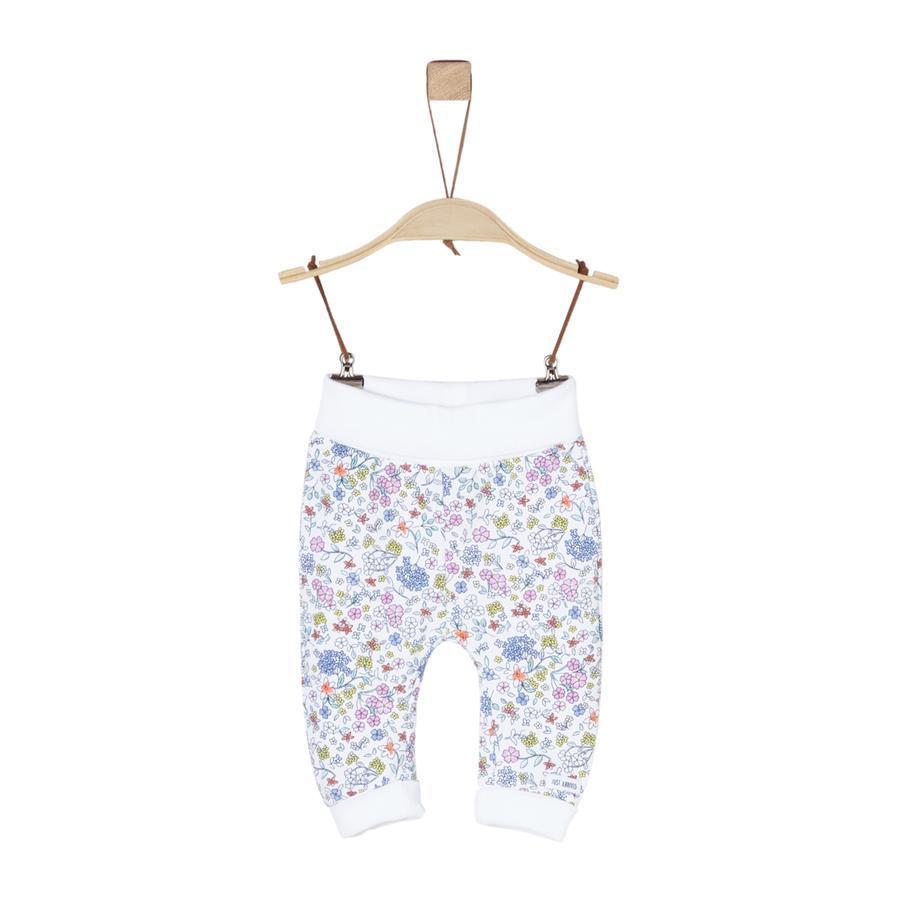 s.Oliver Girl s Pantalon de survêtement blanc