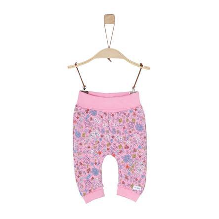 s. Oliver tyttöjen Sweat light housut vaaleanpunainen