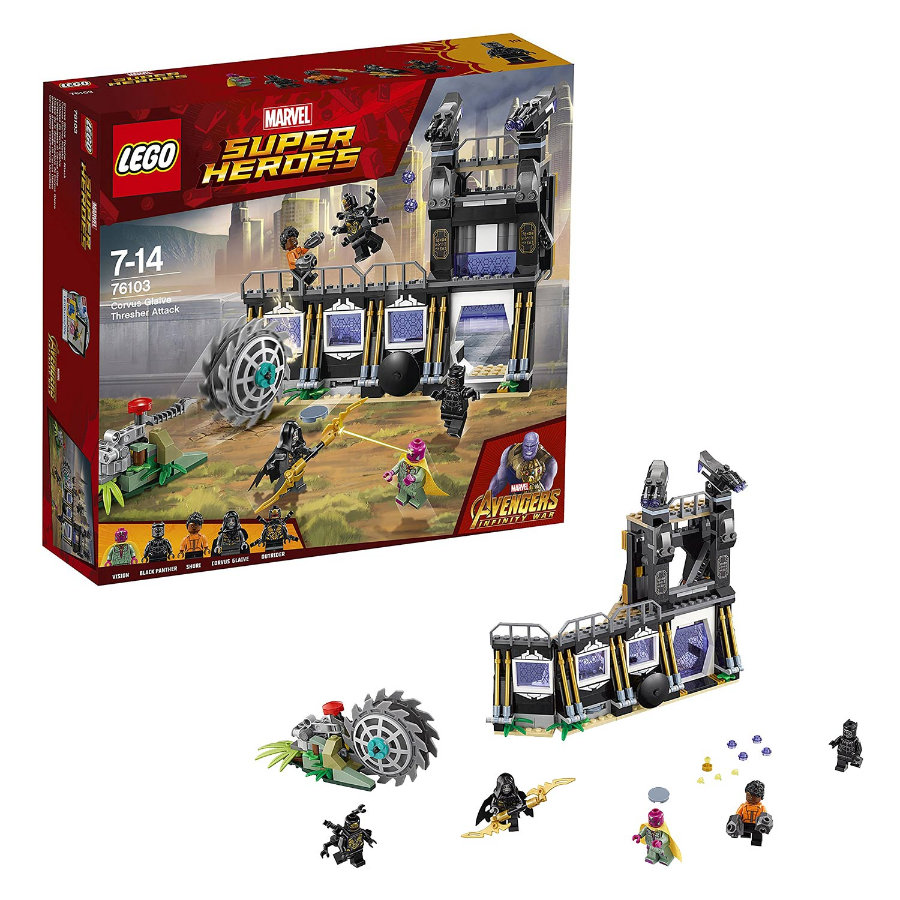 LEGO® Marvel Super Heroes™ - Corvus Glaives Attacke 76103