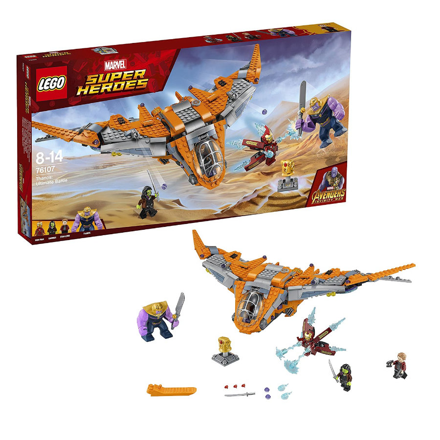 LEGO® Marvel Super Heroes™ - Thanos: La batalla final 76107