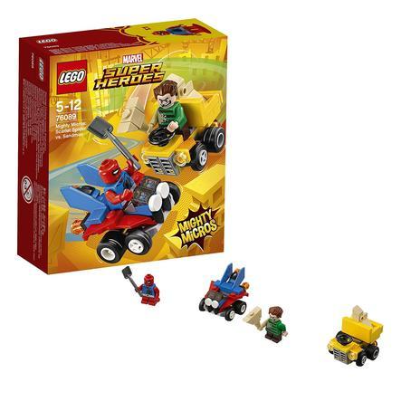 LEGO® Marvel™ Super Heroes - Mighty Micros: Scarlet Spider contro l'Uomo sabbia 76089