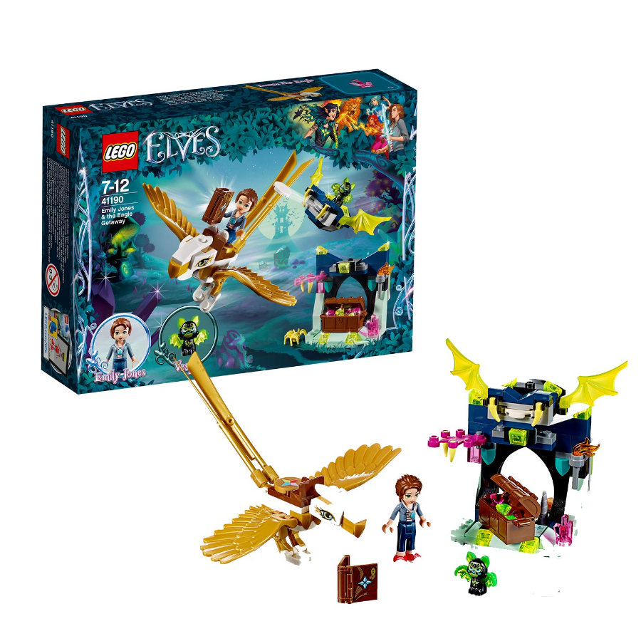LEGO® Friends - Emily Jones i ucieczka orła 41190