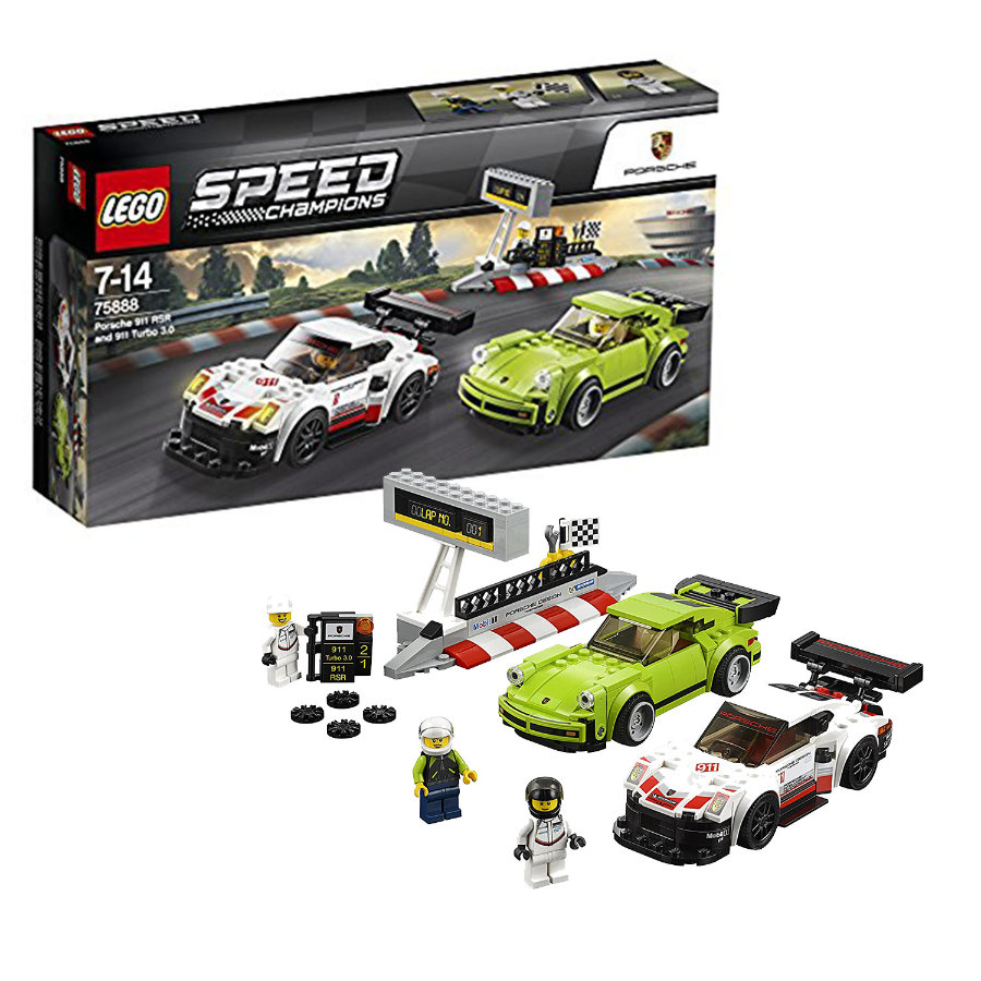 LEGO® Speed Champions - Porsche 911 RSR et 911 Turbo 3.0 75888