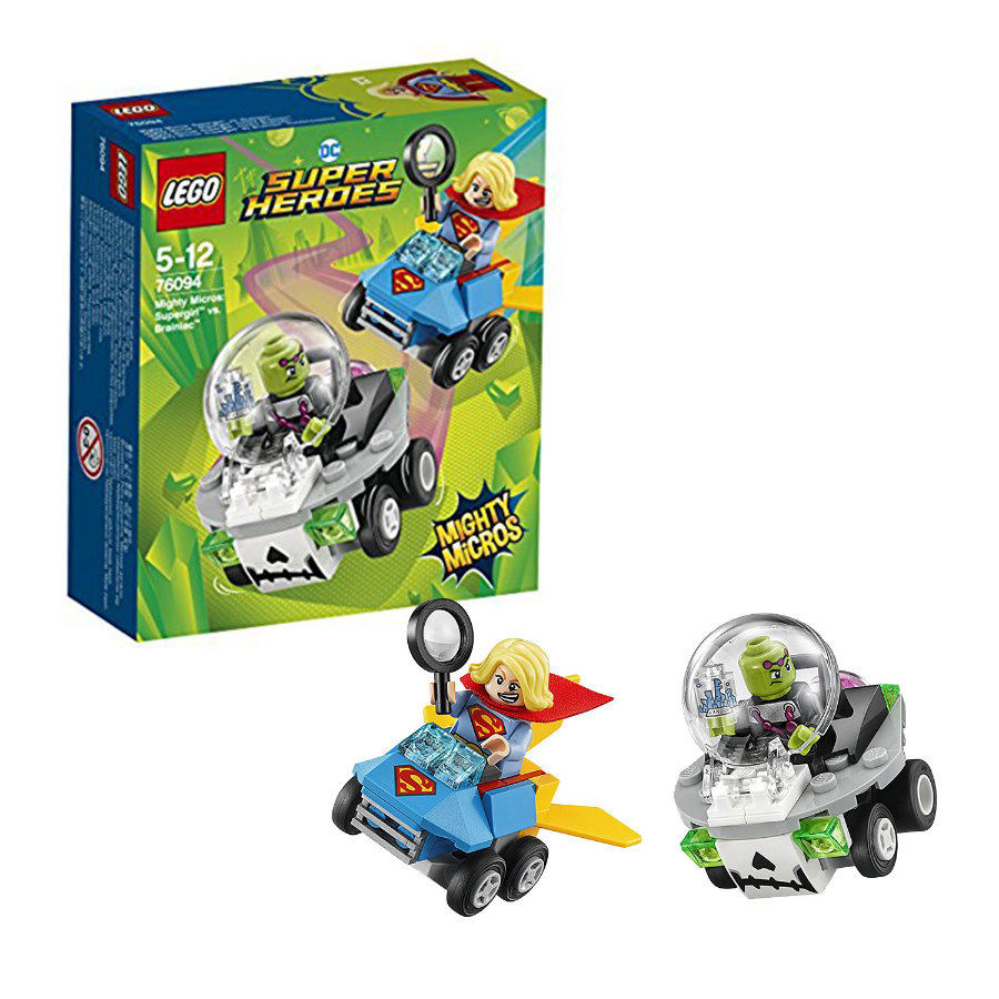 LEGO® DC Super Heroes - Mighty Micros: Supergirl™ vastaan Brainiac™ 76094