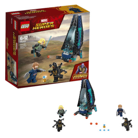 LEGO® Super Heroes Outriderdropshipaanval - 76101