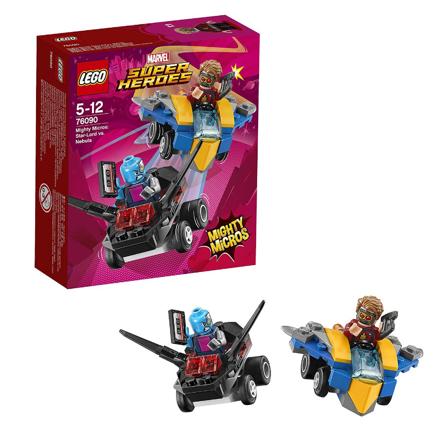 LEGO® Marvel Super Heroes™ Mighty Micros: Star-Lord vastaan Nebula 76090
