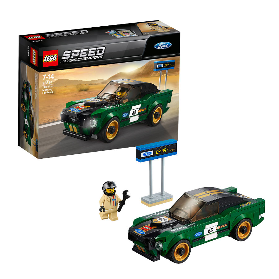 LEGO® Speed Champions - Ford Mustang Fastback z 1968r. 75884