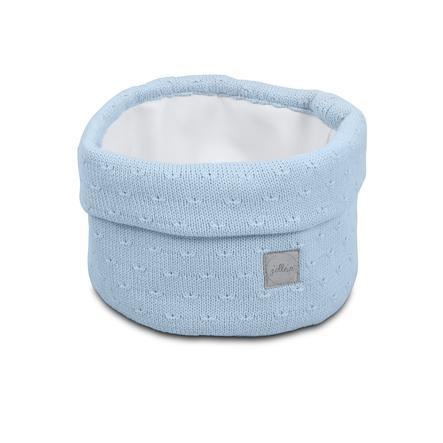 jollein Cesto portaoggetti soft blue