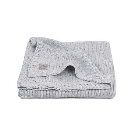 jollein Couverture bébé tricot confetti gris clair 75 x 100 cm