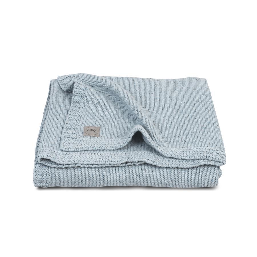 Jollein Deken knit Confetti stone green  75x100cm
