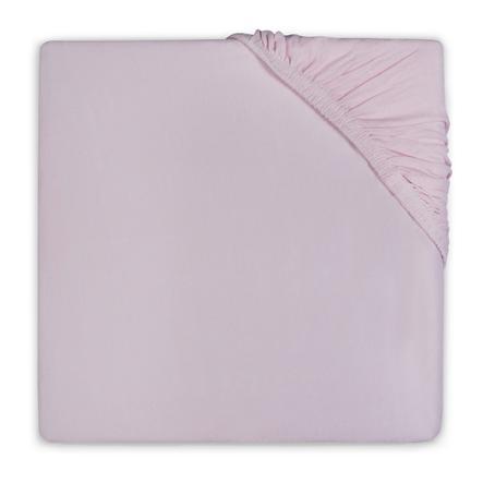 jollein lenzuola di cotone vintage pink 60 x 120 cm