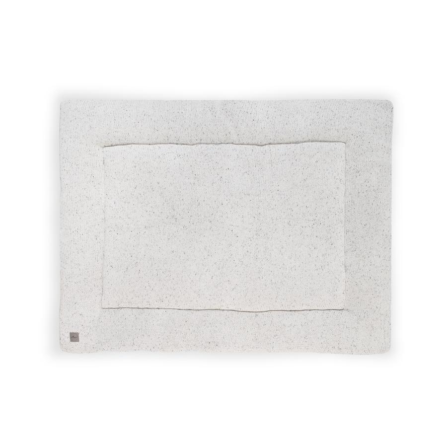 jollein Krabbeldecke Confetti natural 80 x 100 cm
