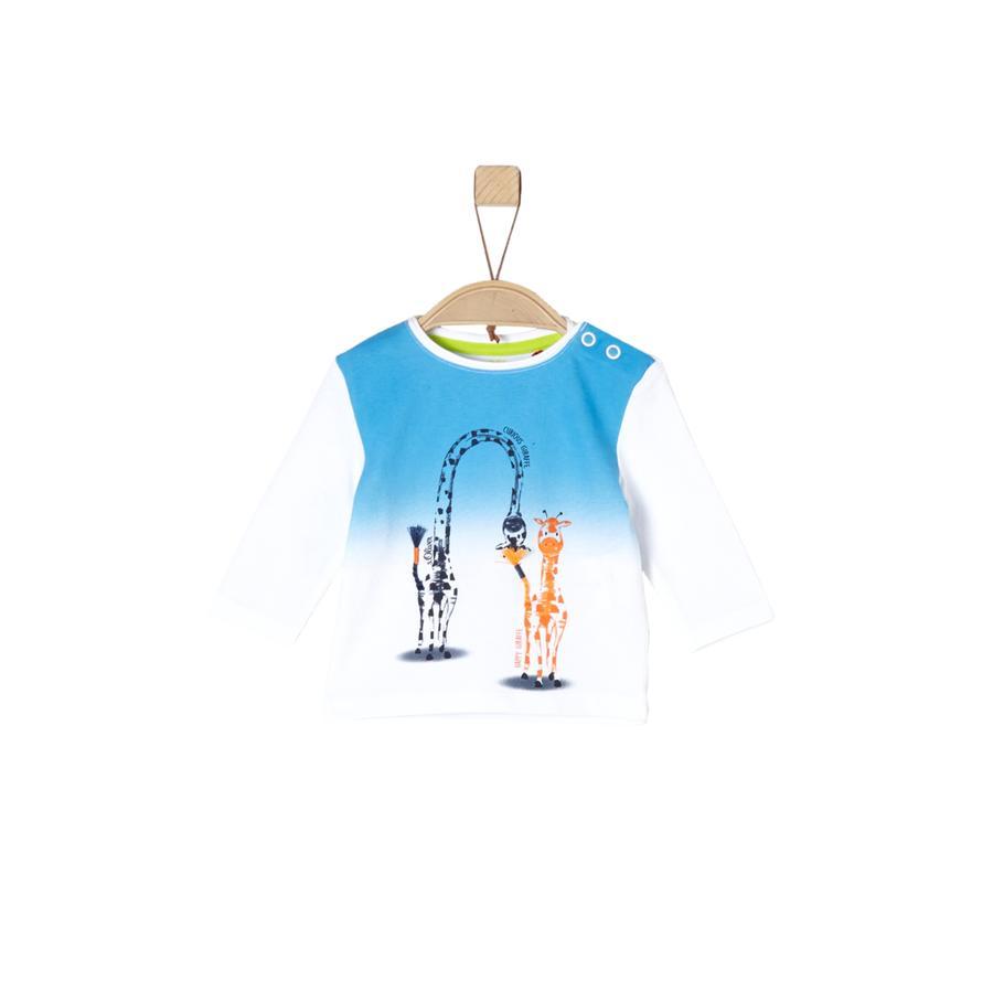 s.Oliver Boys Koszula z długim rękawem w kolorze białym