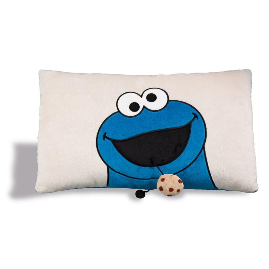 NICI Chapelure d'oreiller rectangulaire Sesame Street monster 43 x 25 cm 41974