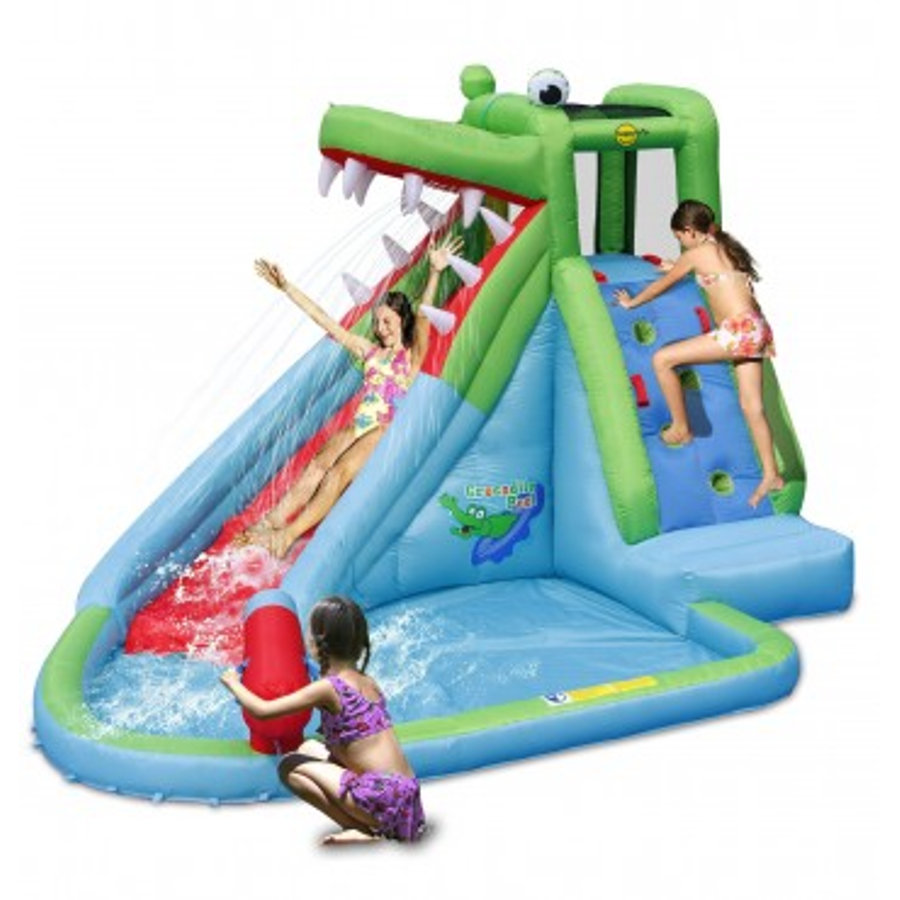 happyhop skákací hrad s bazénkem Krokodýl