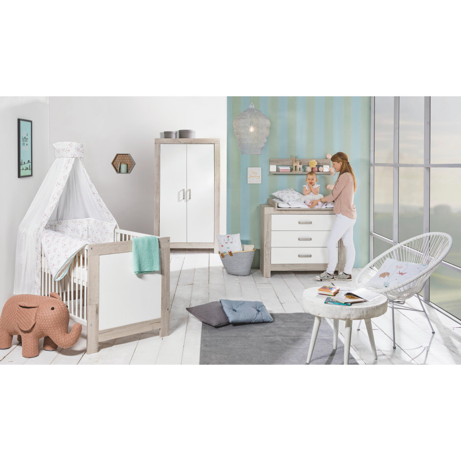 schardt chambre d 39 enfant nordic halifax armoire 2 portes. Black Bedroom Furniture Sets. Home Design Ideas