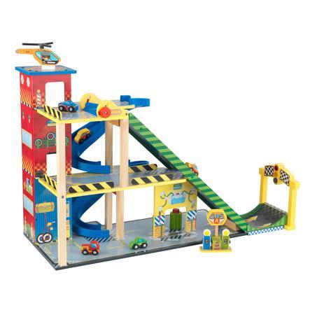 Kidkraft® Rennwagen-Set Mega Ramp