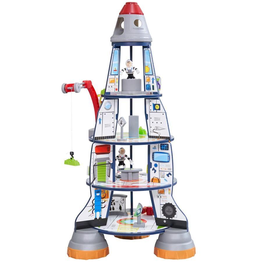 Kidkraft® Jeu de construction fusée géante, bois 63443