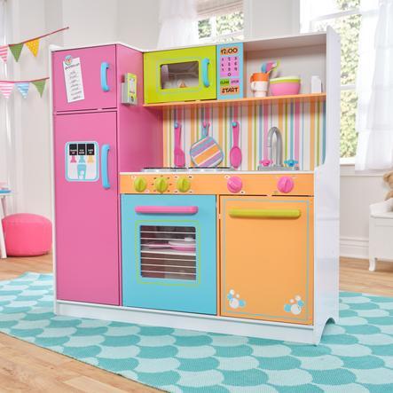 Kidkraft® Cuisine enfant Deluxe aux couleurs vives, bois