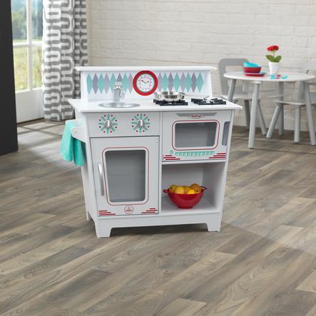 Kidkraft® Cuisine enfant classique blanche, bois