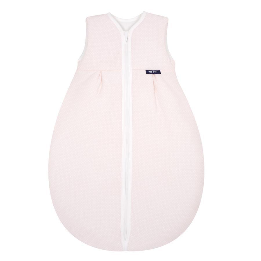 Alvi Jersey Thermo Ganzjahresschlafsack Punkte rosa 70 - 110 cm
