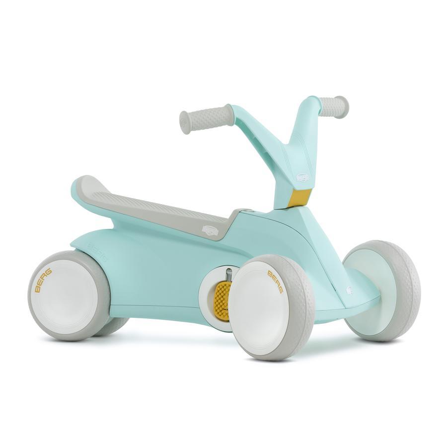 BERG Toys - Gokart GO² Jeździk na pedały 2w1, miętowy