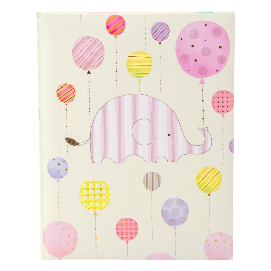 goldbuch Babytagebuch - Happy Elephant, pink
