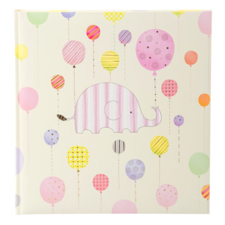 goldbuch Babyalbum - Happy Elephant, pink