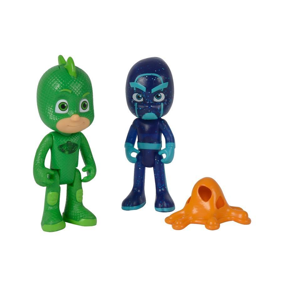 Simba PJ Masks Figursett - Gecko og Ninja
