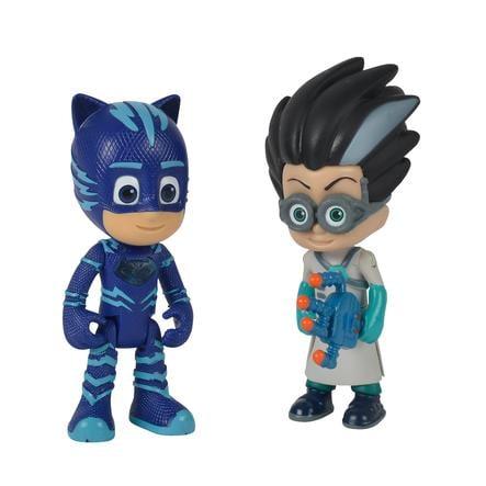 Simba Figurines Pyjamasques Yoyo et Roméo, 2 pièces