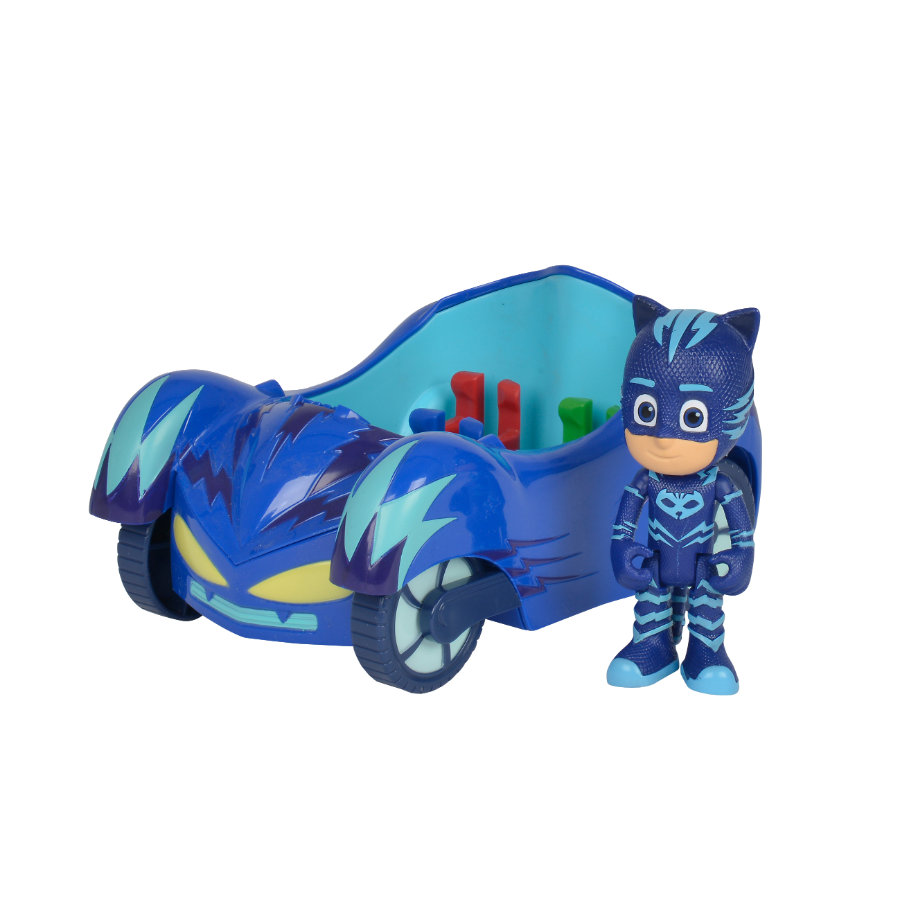 Simba PJ Masks Catboy con gatto-mobile
