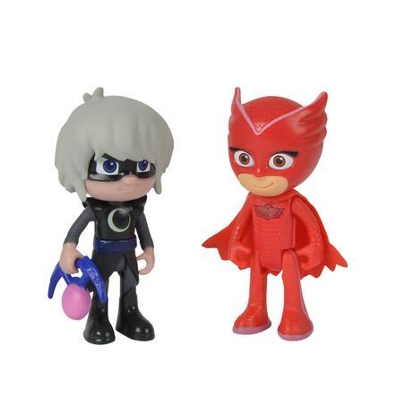 Simba Juego de figuras PJ Masks - Búho y Luna Girl