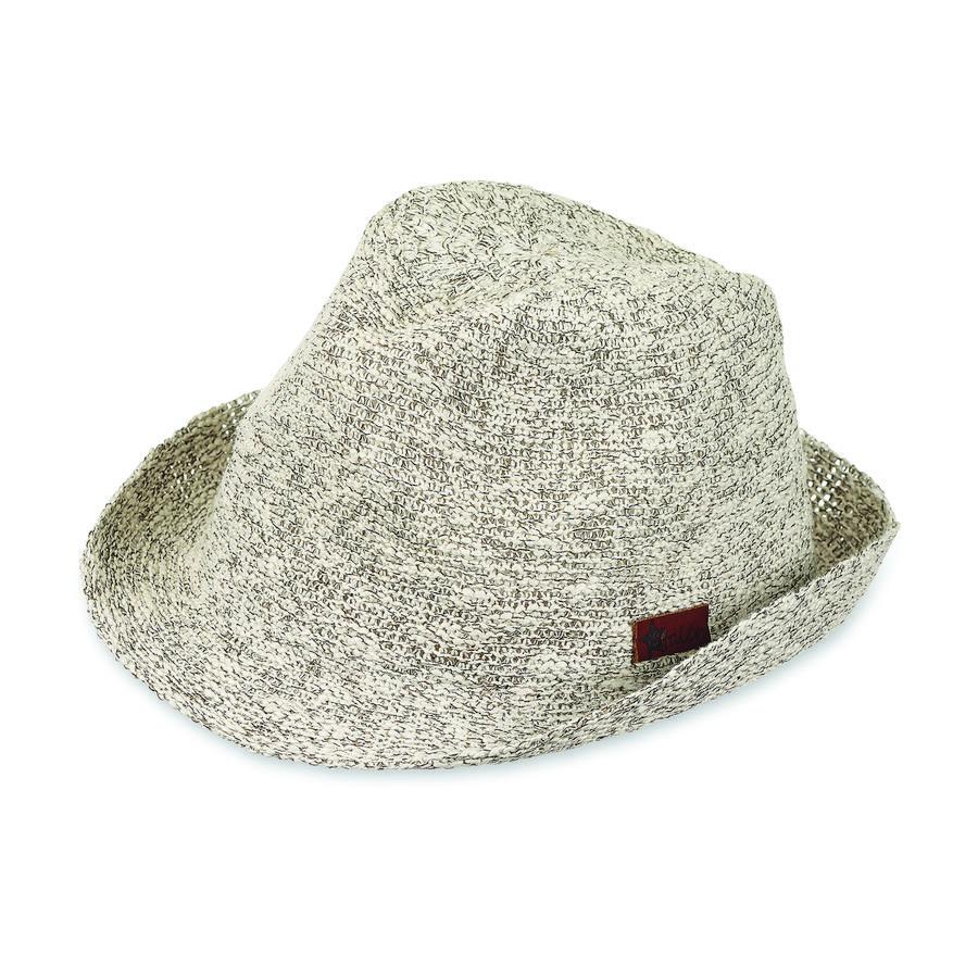 Sterntaler Slaměný klobouk strakatý sand